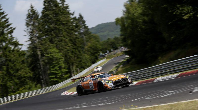 Mercedes-AMG GT3 #16, BLACK FALCON #16 Mercedes-AMG GT3, BLACK FALCON