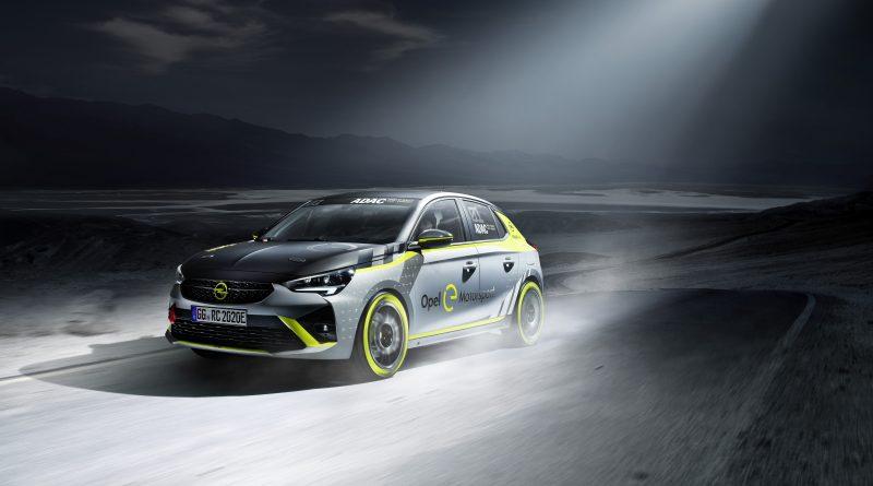 ADAC Opel e-Rally Cup, Opel Corsa-e Rally © Opel