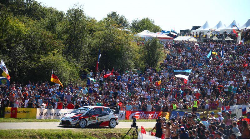 ADAC Rallye Deutschland, Panzerplatte, Toyota Gazoo Racing WRT, Ott Tänak