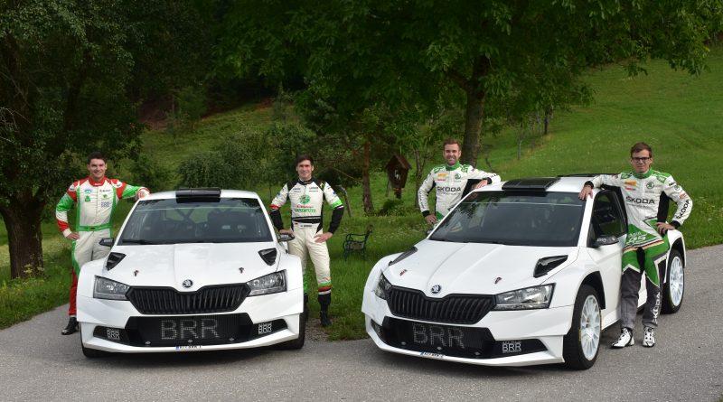 Pirmin Winklhofer, Marijan Griebel, Tobias Braun, Fabian Kreim (v.l.n.r., Foto: Škoda Auto Deutschland)