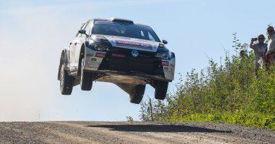 Oliver Solberg (N), Aaron Johnston (GB), Volkswagen Polo GTI R5 #6, ERC, Latvian Rally Championship, Lõuna-Eesti Ralli (EST), 30-31 August 2019