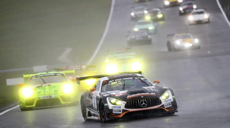 Mercedes-AMG GT3 #6 von BLACK-FALCON AutoArena Motorsport