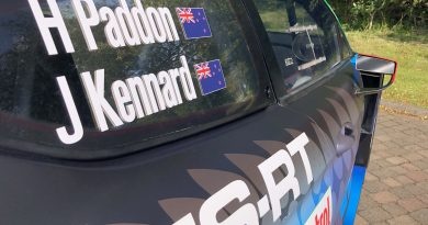 Hayden Paddon and John Kennard