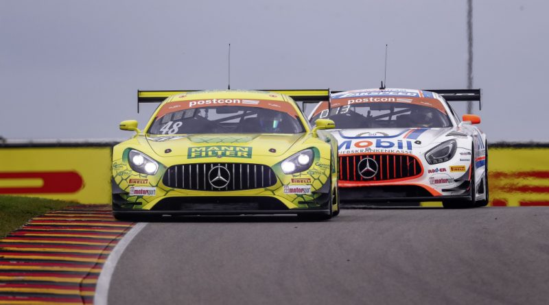#48 und #21 Mercedes-AMG GT3 #48 and #21 Mercedes-AMG GT3