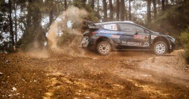 M-Sport Rallye Australien