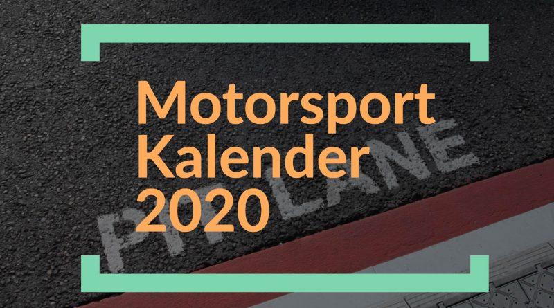 Rallye- und Rennsportkalender 2020