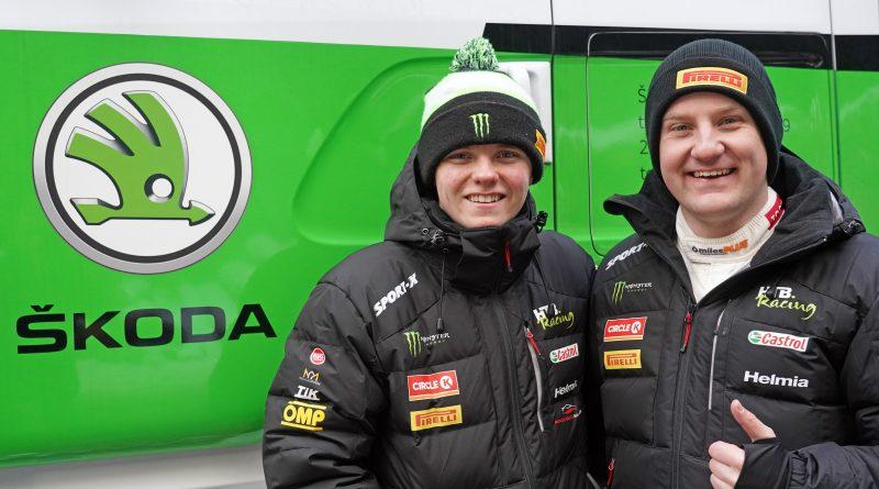 ŠKODA Motorsport kooperiert mit Oliver Solberg in der WRC3