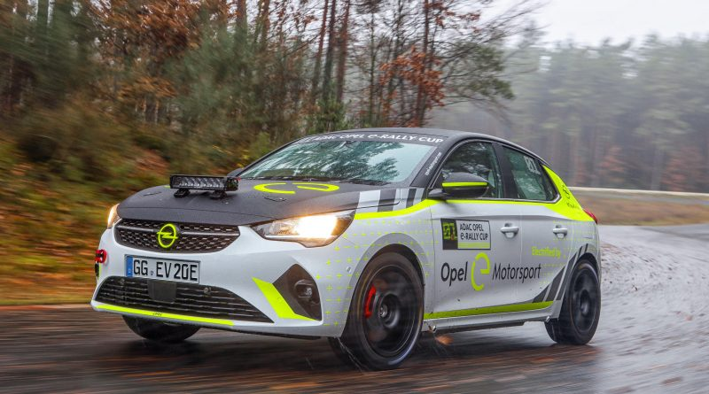 Holzer Motorsport und Michelin sind neue Partner beim ADAC Opel e-Rally Cup