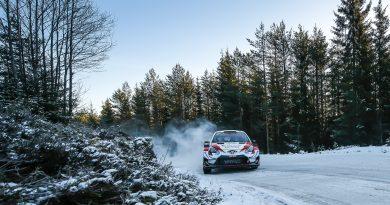 Elfyn Evans/Scott Martin im Toyota Yaris WRC