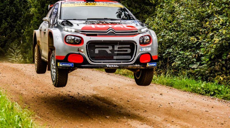Østberg holt Sieg in der WRC2