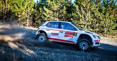 Altmeister Kahle siegt vor Tannert bei der Lausitz-Rallye 2020