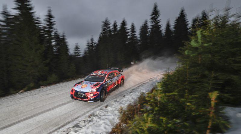 """Hyundai meldet """"Startklar"""" für die Arctic-Rally"""