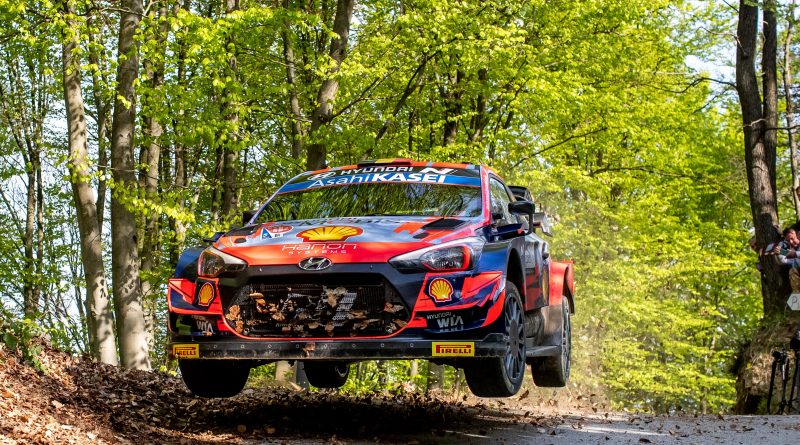 Hyundai Motorsport mit Neuville und Tänak auf Platz 3 und 4 bei der Rallye Kroatien
