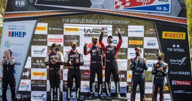WRC Rallye Kroatien: Doppelsieg für Toyota im Herzschlagfinale