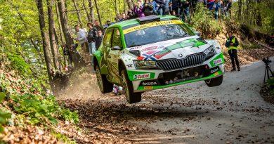 WRC2 Rallye Kroatien: Andreas Mikkelsen behauptet WRC2-Spitze