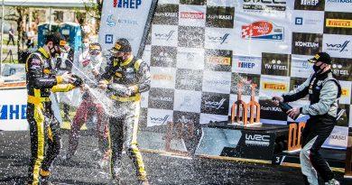 Junior WRC: Jon Armstrong holt heiß umkämpften Sieg in Kroatien