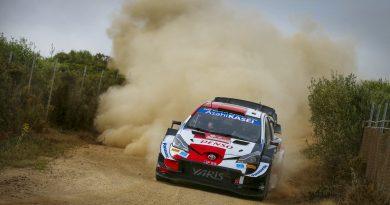 Toyota holt mit Ogier und Evans Doppelsieg auf Sardinien