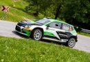 Lukas Dunner/Ilka Minor gewinnen die Mitropa Rally Cup Wertung bei der Rallye Zelezniki 2021