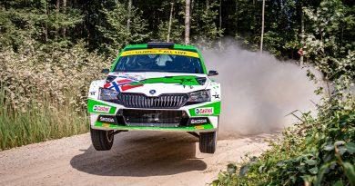 WRC2-Sieg für Mikkelsen bei der Rallye Estland