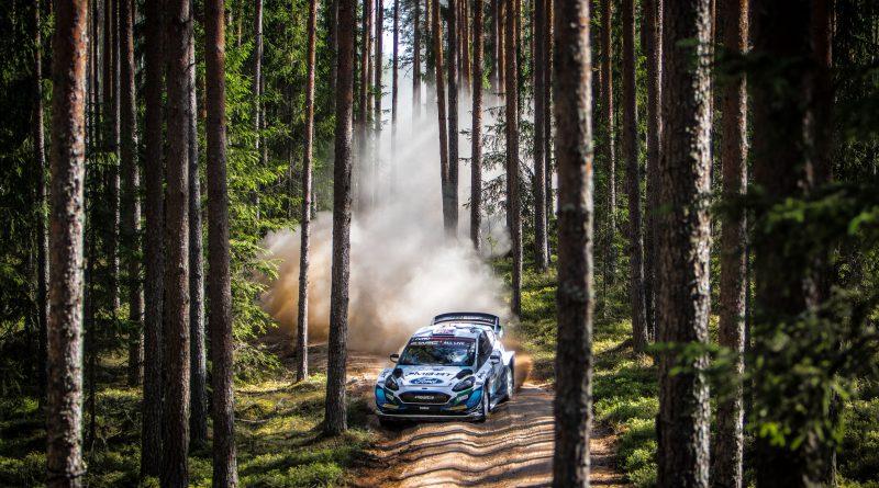 M-Sport/Ford fährt mit dem Fiesta WRC bei der Rallye Estland unter die besten Sechs
