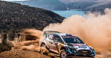 M-Sport Ford mit Ergebnissen in Griechenland zufrieden
