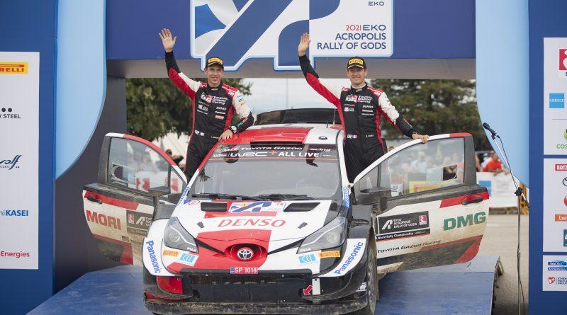 Kalle Rovanperä gewinnt in Griechenland seine zweite WRC-Rallye